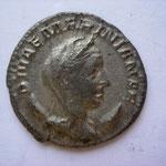 antoninien, Rome 256-257, 6e off, 3.12 g, Avers: DIVAE MARINIANAE