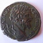 Bronze de NICOPOLIS (Mésie inférieure), 13.14 g, Avers: AV K ACЄΠ CEVHPOC Π