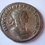 aurélianus, Serdica, 277, 1° off, Avers:  IMP C M AVR PROBVS PF AVG, buste cuir à droite
