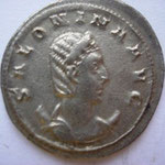 antoninien, Trêves 257-258, 3.38 g, Avers:  SALONINA AVG