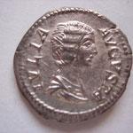 denier, Rome, 2.94 g, Avers : IVLIA AVGVSTA (vente Savoca Coins 25 juin 2017 n° 526)