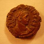 tetradrachme Alexandrie 7.91 g, Avers: K M AVP ΠРОВОС СЄВ buste lauré cuirassé à droite
