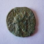 minimi, 1.26 g, région d'Amiens, A/ légénde dégénérée, --VIC--