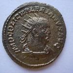 antoninien, Samosate (ou atelier secondaire d'Orient) 1ére ém début 255, 3.85 g, Avers: IMP C LIC VALERIANUS AUG