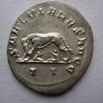 Revers: SAECULARES AUGG / II, la louve à g allaitant Romulus et Remus, SUP rare (R)