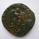 célèbre la victoire contre les sassanides d'Ardashir I (224-241), SUP patine marron