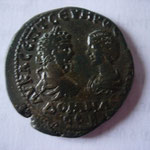 Marcianopolis, Pentassaria, 193-211, 13.58 g,Flavius Ulpianus légat A/ AV K Λ CЄΠT CЄVHPOC IOVΛIA / ΔOMNA / CЄB.