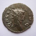 antoninien, Rome, 263/264, 3.01g, 3e officine, Avers: GALLIENVS AVG,  buste nu