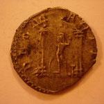 Revers: DEO MARTI , Mars ds un temple tetrastyle, SUP / TTB, rare (R)
