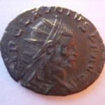 antoninien, Milan, 2e ém 2e off, 2.94 g, Avers: IMP CLAUDIUS P F AUG