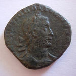 sesterce, août 253 - août 254,  18.45 g, Avers: IMP C P LIC GALLIENVS AVG Buste lauré et cuirassé de Gallien à droite