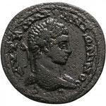 Seleucis and Pieria. Antioch. Elagabalus AD 218-222. Bronze Æ  32mm., 17,74g. A: AYT K M AY ANTΩNINOC