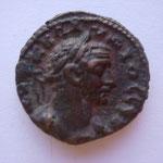 tetradrachme,Alexandrie 2e année du règne 254-255, 10.03 g, Avers: --K K ΠΛ -ΙYIOC CEB