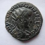 dupondius de Viminacium, Avers: IMP GORDIANUS PIUS FEL AUG, 7.04 g