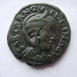 moyen bronze de DEULTUM (Thrace) pour Tranquilline ép de Gordien, Avers: SAB TRANQUILLINA AUG, 7.14 g