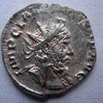 antoninien, Cologne 3.50 g, Avers: IMP C LA (ELIANVS) P F AVG portrait magnifique