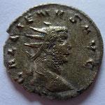 antoninien, Rome, 260-261, 3,10 g, avers: GALLIENVS AVG buste nu (MIR 368 C)