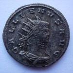 antoninien, 259-264, 4.39 g, Avers: GALLIENVS AVG buste cuirassé drapé à droite