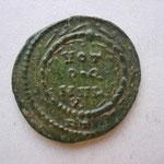 frappée à la fin de la révolte d'Alexandre en Afrique et à l'occasion des decennelia de Maxence