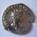 antoninien, Viminacium, 2.26 g, automne 253 - début 254, Avers:  IMP VALERIANVS P F AVG .