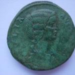 sesterce, Rome, 5e officine, 25.80 g, Avers: IVLA AVGVSTA