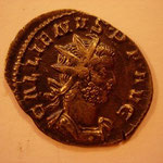antoninien, 2.51 g, 6e ém 2e off 259-juillet/août 260, Avers: GALLIENUS P F AVG