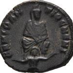 nummus, ANTIOCHE, 310/313, 1,89 g, 2e offfficine, dite frappe des persécutions, A: GENIO AN-TIOCHENI