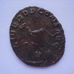"Revers: LIBERO P CONS AVG / B (""LIBERO Pater Conservatori Augusti"", à Liber père protecteur de l'empereur) TTB rare (RR)"
