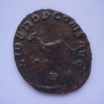 "Revers: LIBERO P CONS AVG / B (""LIBERO Pater Conservatori Augusti"", à Liber père protecteur de l'empereur) TTB rare (RRR)"