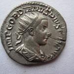 antoninien, Avers: IMP GORDIANUS PIUS FEL AUG, 4.03 g, Rome 10--11e ém 2e off, 241-243