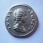 Denier, Rome 203 ap JC, 3.21 g, 17 éme émission, 6 éme officine, Avers: IULIA AUGUSTA