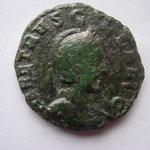 sesterce de Viminacium, pour Herennia Etruscilla ép de T.D, 12.08 g, Avers: HER ETRUSCILLA AUG