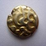 Statère d'or des NERVIENS, type à l'epsilon, 5.86 g, Gaule Belgique