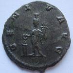 Revers: GENI-V AVGcurieuse monnaie avec GENIV au lieu de GENIVS ou GENIO, SUP rare (R3) acaht JM Reboul 8/05/18