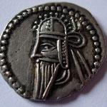 drachme frappée à Ecbatane; 3,74 g. Avers anépigraphe.