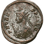 aurélianus, Rome, 3.46g, 4e officine, 282. Avers: PROBVS P F AVG