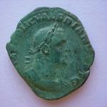 sesterce, 17.60 g, Rome, Avers: IMP C P LIC VALERIANUS AUG