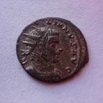 antoninien ou aurélianus, Cyzique, automne 272-début 273, 1ére ém 2e off, 3.92 g, Avers: (AURE)LIANUS AUG