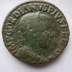 sesterce de Viminacium, 241-242, Avers: IMP GORDIANUS PIUS FEL AUG, 18.92 g