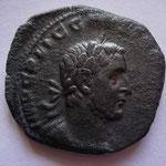 Sesterce, Rome, 254, 15.79 g, avers: IMP C P LIC GALLIENVS AVG, buste cuirassé lauré à droite