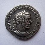 Denier Rome oct-déc 217, 3.47 g, Avers: IMP C M OPEL SEV MACRINUS AUG