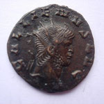 antoninien, 2.74 g, 265-267 7e off, Avers: GALLIENVS AVG