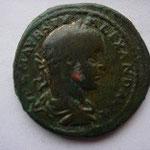 moyen bronze ou As pour DEULTUM, 8.49 g, Avers: IMP C M AUR SEV ALEXAND AUG