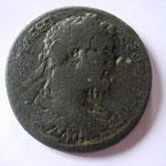 Lydie, Kilbiani, grand bronze, 35 mm, 23.45 gr, Avers: buste cuirassé et drapé à droite se Septime Sévère