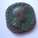 sesterce, Rome 256-257, 16.19 g, Avers: DIVAE MARI]NIANAE