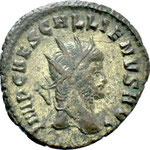 antoninien, Rome, 4e officine, 265/267, 2.62 g, A: IMP CAES GALLIENVS AVG très rare titulature Wolkow  13ad4a