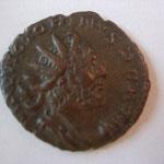 antoninien, Trêves, 271, 2.71 g, avers: IMP C VICTORINVS P F AVG