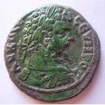Pentassaria, ANCHIALOS (Thrace), 14.22 g, 28 mm, Avers: AV K ACЄΠ CEVHPOC
