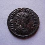 aurélianus, Rome 3e ém 3e off janvier-mars 283, 2.90 g, Avers: IMP C M AUR CARUS P F AUG