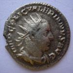 antoninien, Rome 2e ém printemps - fin 254, 2.40 g, Avers: IMP C LIC VALERIANUS AUG